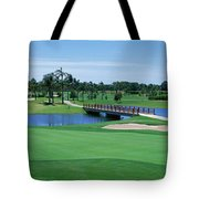 Golf Course Gold Coast Queensland Tote Bag