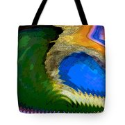 Golf Course In The Desert Tote Bag