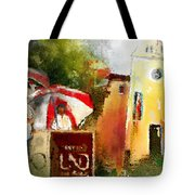 Golf In Club Fontana Austria 01 Dyptic Part 02 Tote Bag