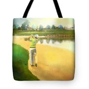 Golf In Club Fontana Austria 02 Tote Bag
