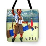 Golf In Deutchland Tote Bag