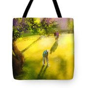 Golf In Spain Castello Masters  01 Tote Bag