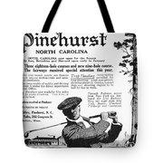 Golf: Pinehurst, 1916 Tote Bag