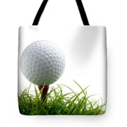 Golfball Tote Bag