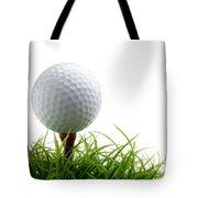 Golfball Tote Bag by Kati Molin