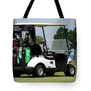 Golfing Golf Cart 05 Tote Bag