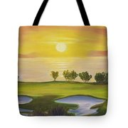 Golfing Heaven Tote Bag