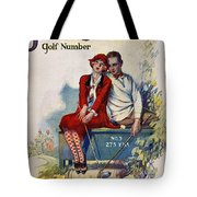Golfing: Magazine Cover Tote Bag