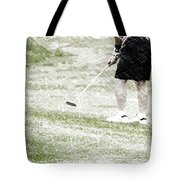 Golfing Putting The Ball 01 Pa Tote Bag