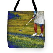 Golfing Putting The Ball 02 Pa Tote Bag