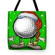 Golfmas Tote Bag