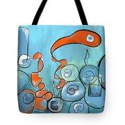 Golfo Eggd Tote Bag
