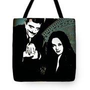 Gomez And Morticia Addams Tote Bag