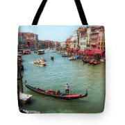 Gondola On The Grand Canal Tote Bag