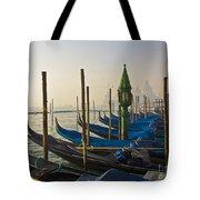 Gondolas At San-marco, Venice, Italy Tote Bag