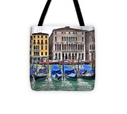 Gondolas Galore Tote Bag