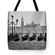 Gondolas Of San Marco Square Tote Bag