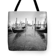 Gondolier In The Distance Tote Bag