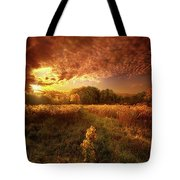 Gone Far Away Into The Silent Land Tote Bag