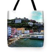 Gone Fishing In Sorrento Tote Bag
