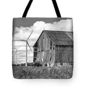 Gone With The Wind 3 Bw Tote Bag