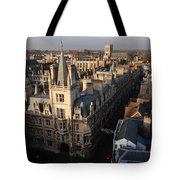Gonville And Caius College Tote Bag