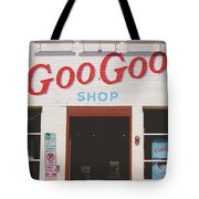 Goo Goo Shop- Photography By Linda Woods Tote Bag