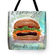 Good Burger Tote Bag