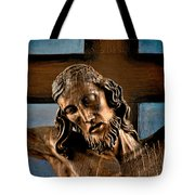 Good Friday Jesus On The Cross Tote Bag