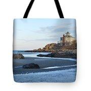 Good Harbor Beach Mansion Tote Bag