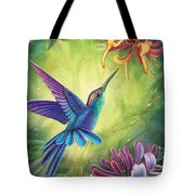 Good Luck - Honeysuckle Tote Bag by Anne Wertheim