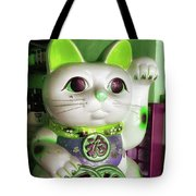 Good Meowning. I Feel So Lucky Today Tote Bag