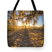 Good Morning At The Oak Tote Bag