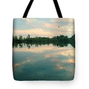 Good Morning Bird Tote Bag