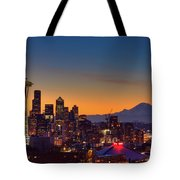 Good Morning From Kerry Park Tote Bag