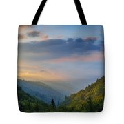 Good Morning From The Smokies. Tote Bag