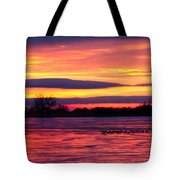 Good Morning Geese Tote Bag