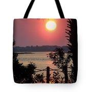 Good Morning Tote Bag by Karen Wiles
