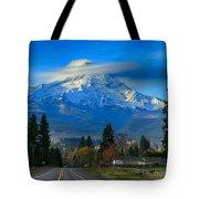 Good Morning Mount Hood Tote Bag