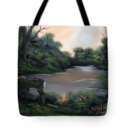 Good Morning My Deer. Tote Bag