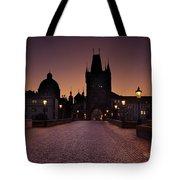 Good Morning Prague  Tote Bag