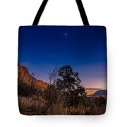 Good Night God's Garden 3 Tote Bag