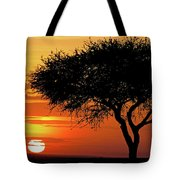 Good Night, Maasai Mara Tote Bag
