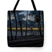 Good Night San Clamente Pier 2 Tote Bag