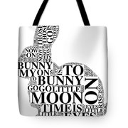 Goodnight My Bunny Tote Bag