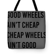 Goodwheels Tote Bag