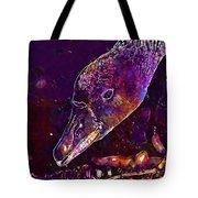 Goose Bird Feather Water Bird  Tote Bag