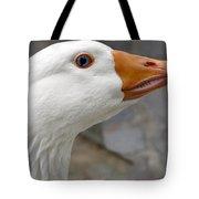 Goose Close Up Tote Bag