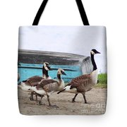 Goose Crossing Mayville Park Tote Bag
