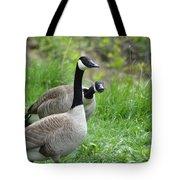 Goose Warning Tote Bag